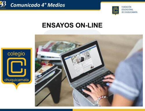 Comunicado 4° Medios 2020