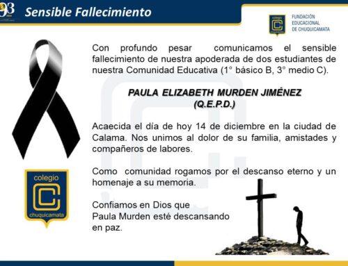 Sensible Fallecimiento (14-12-2020)