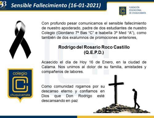Sensible Fallecimiento (16-01-2021)