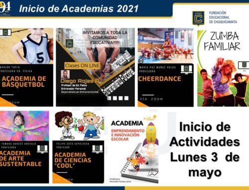Comunicado Academias 2021