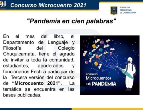 Concurso Microcuento 2021