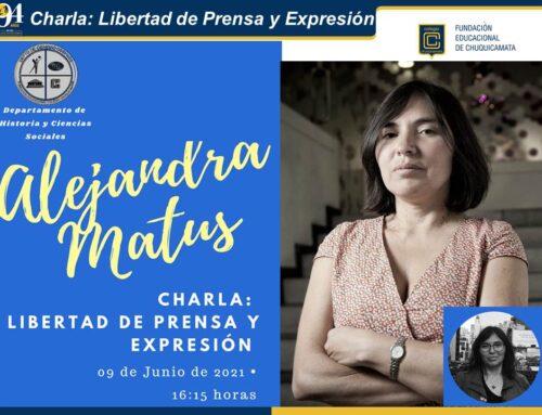 Charla: Liberta de Prensa y Expresión