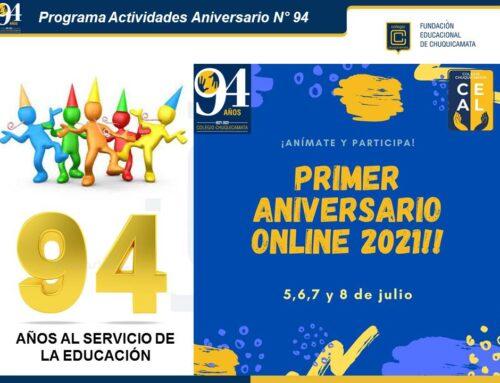 Programa Actividades Aniversario N° 94