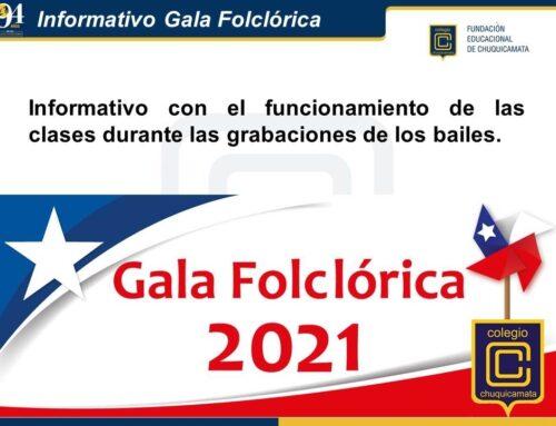 Informativo Gala Folclórica